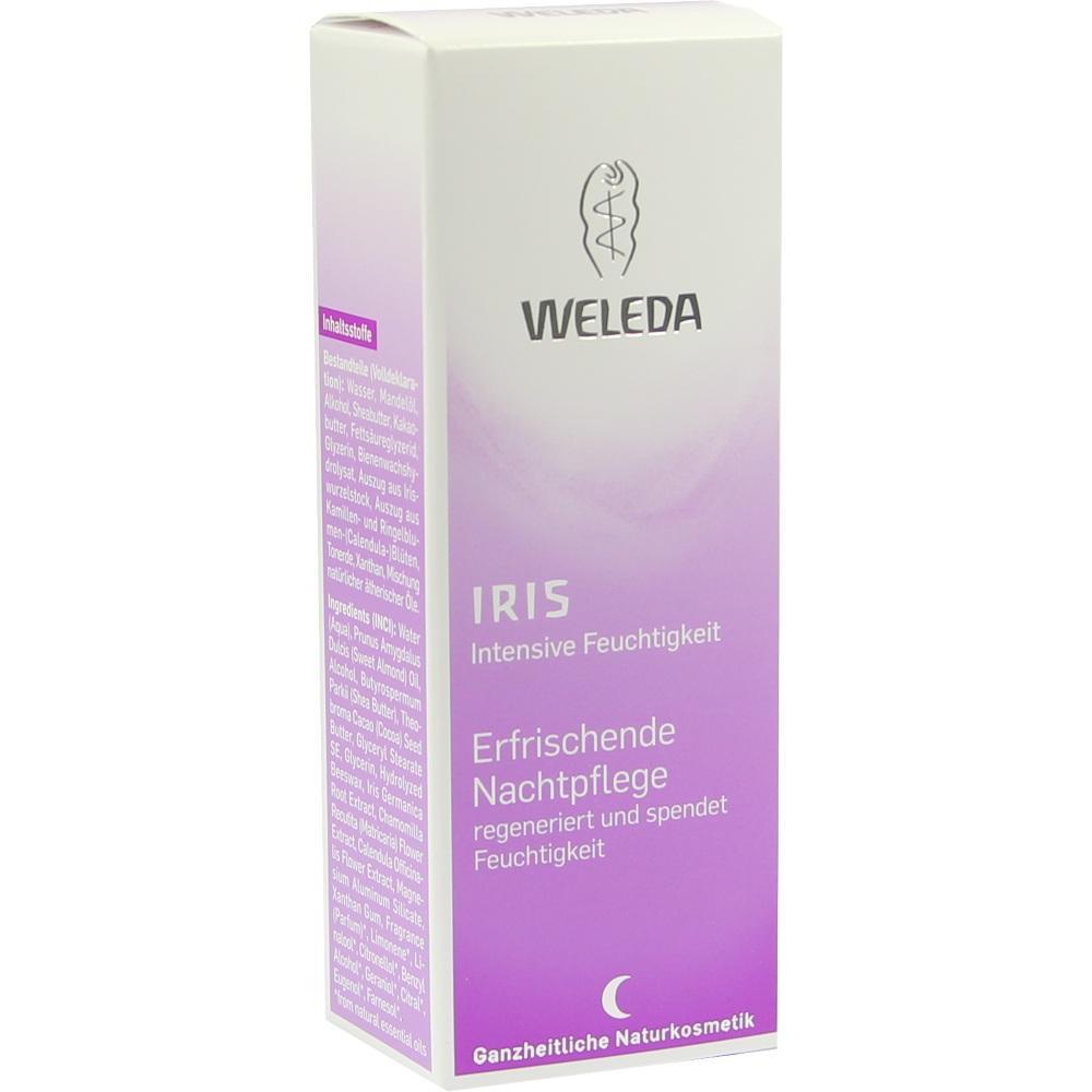 02055324, WELEDA Iris Erfrischende Nachtpflege, 30 ML