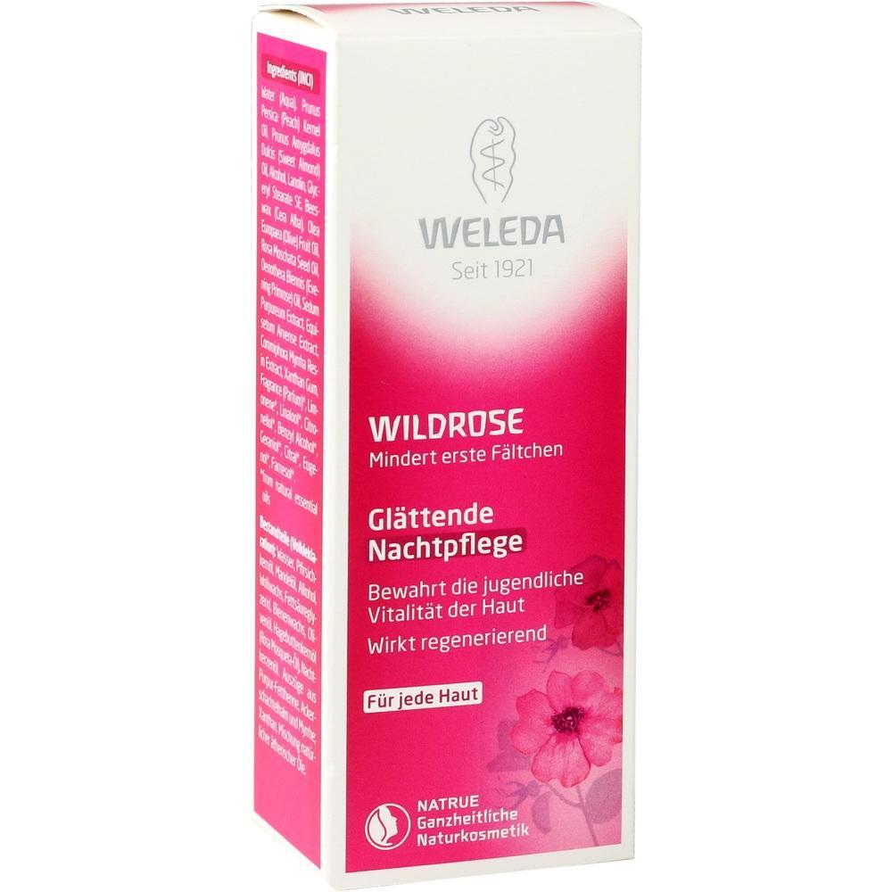 02064582, WELEDA Wildrose Glättende Nachtpflege, 30 ML