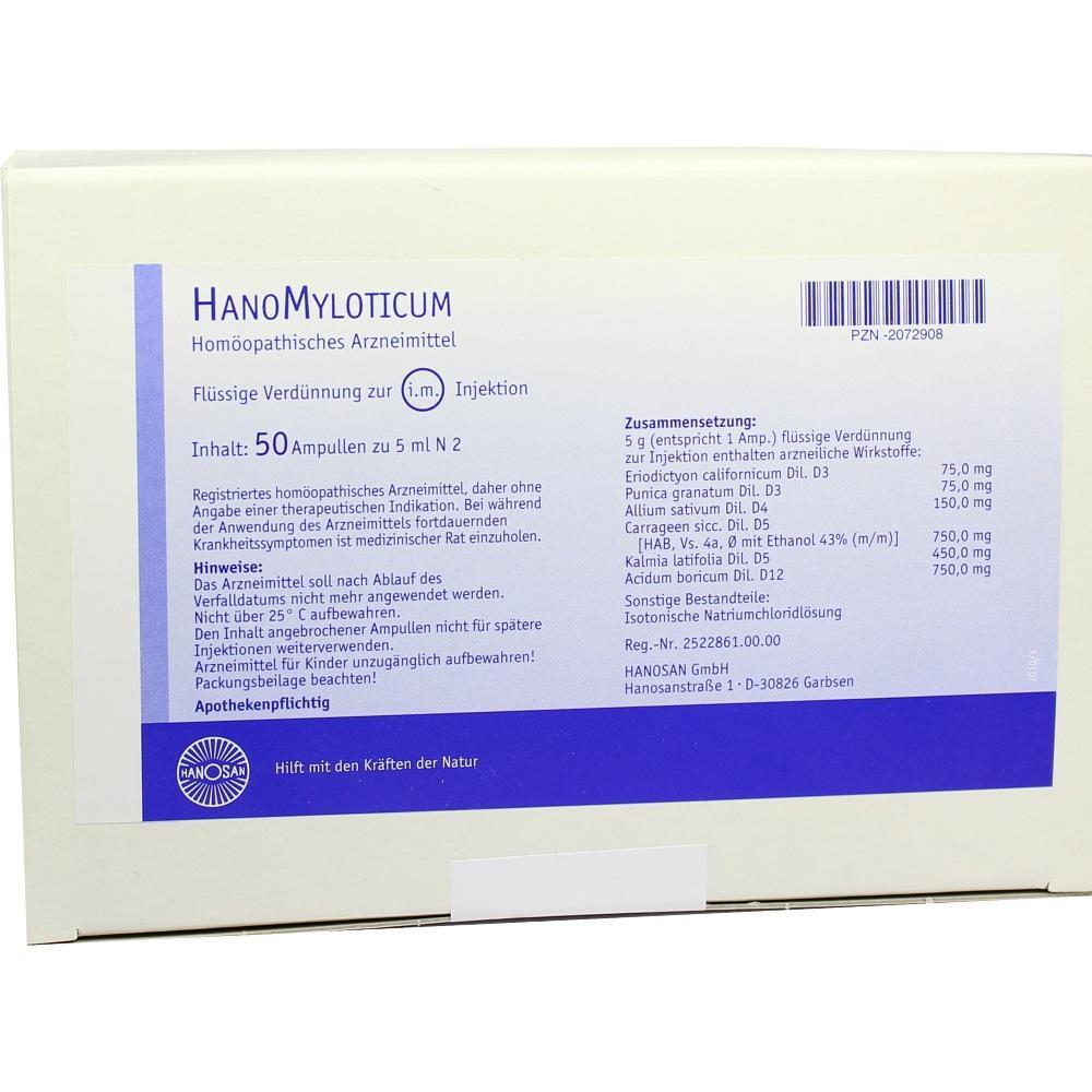 HANOMYLOTICUM Injektionslösung