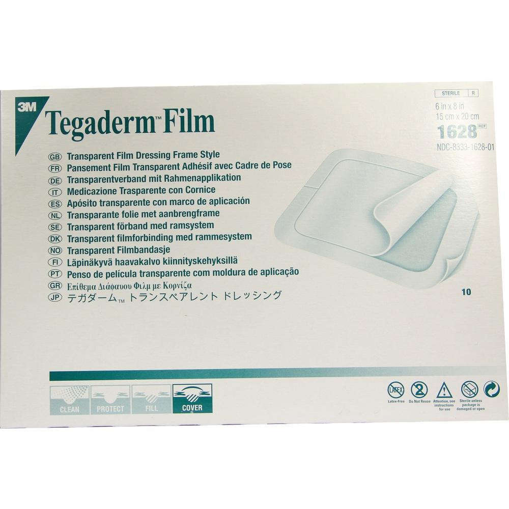 02100378, Tegaderm 3M Film 15.0cmx20.0cm, 10 ST