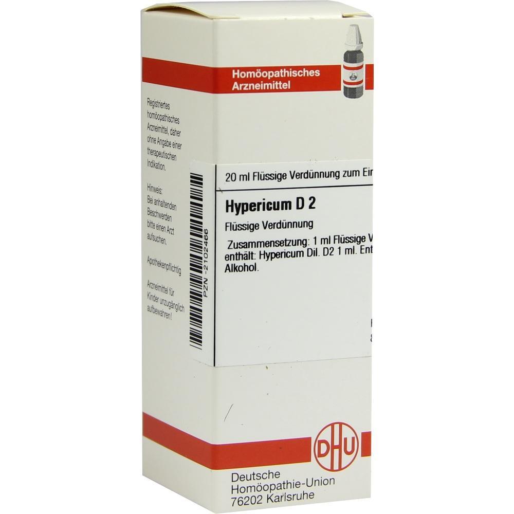 HYPERICUM D 2 Dilution