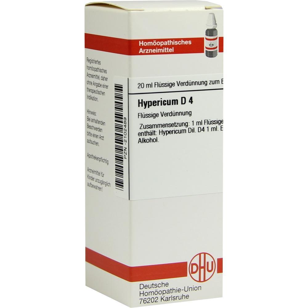 HYPERICUM D 4 Dilution