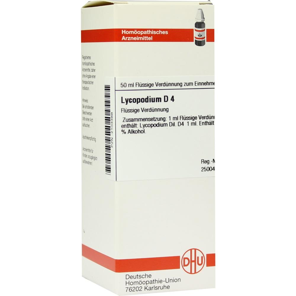 LYCOPODIUM D 4 Dilution