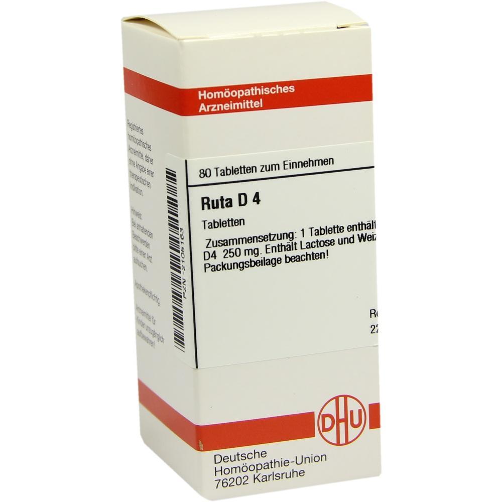 RUTA D 4 Tabletten