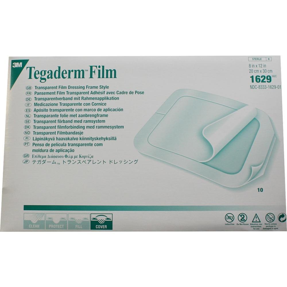 02105542, Tegaderm 3M Film 20.0cmx30.0cm, 10 ST