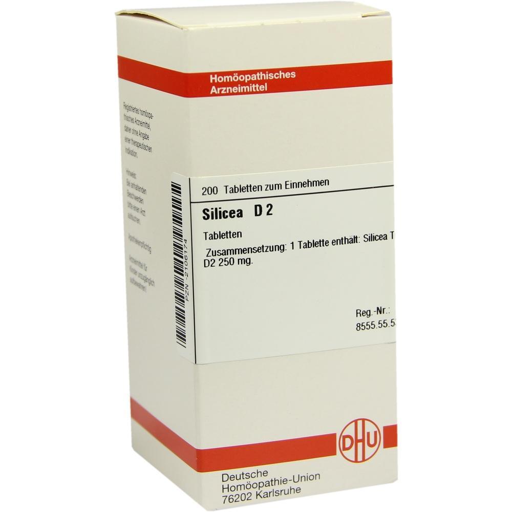 SILICEA D 2 Tabletten