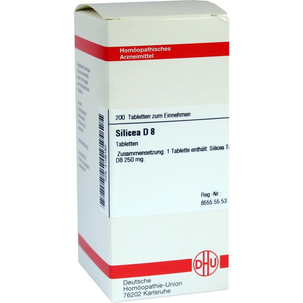 SILICEA D 8 Tabletten