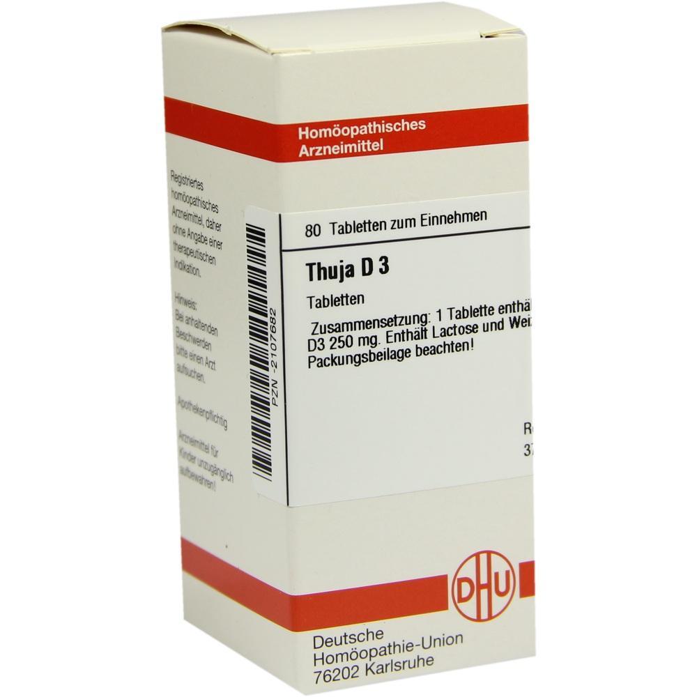 THUJA D 3 Tabletten