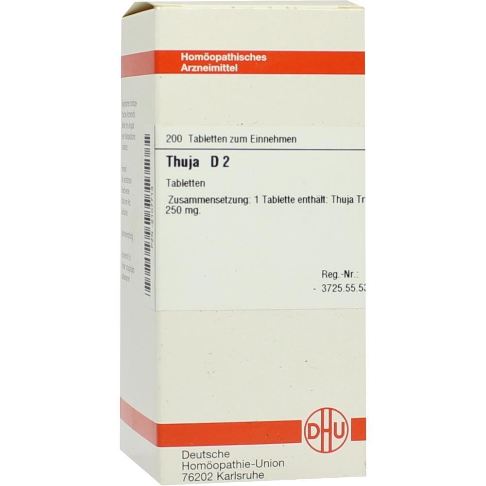THUJA D 2 Tabletten