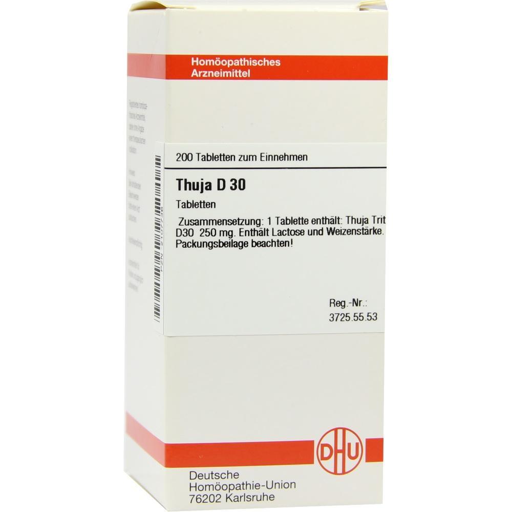 THUJA D 30 Tabletten