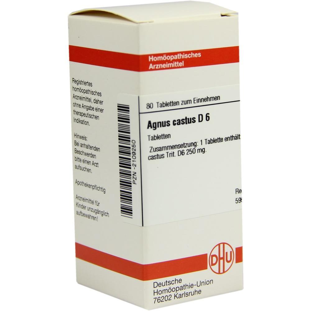 02109250, AGNUS CASTUS D 6, 80 ST