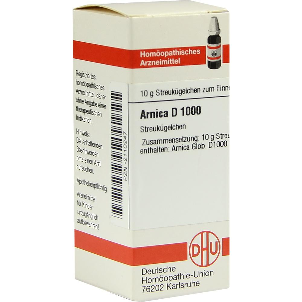 ARNICA D 1000 Globuli