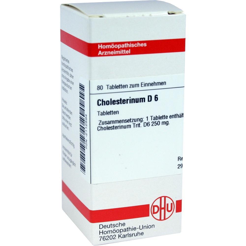 CHOLESTERINUM D 6 Tabletten