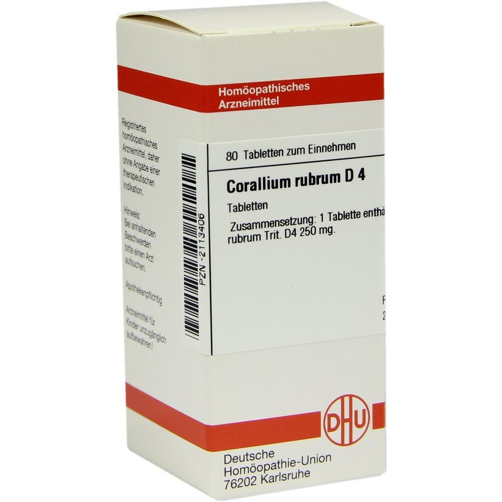 CORALLIUM RUBRUM D 4 Tabletten