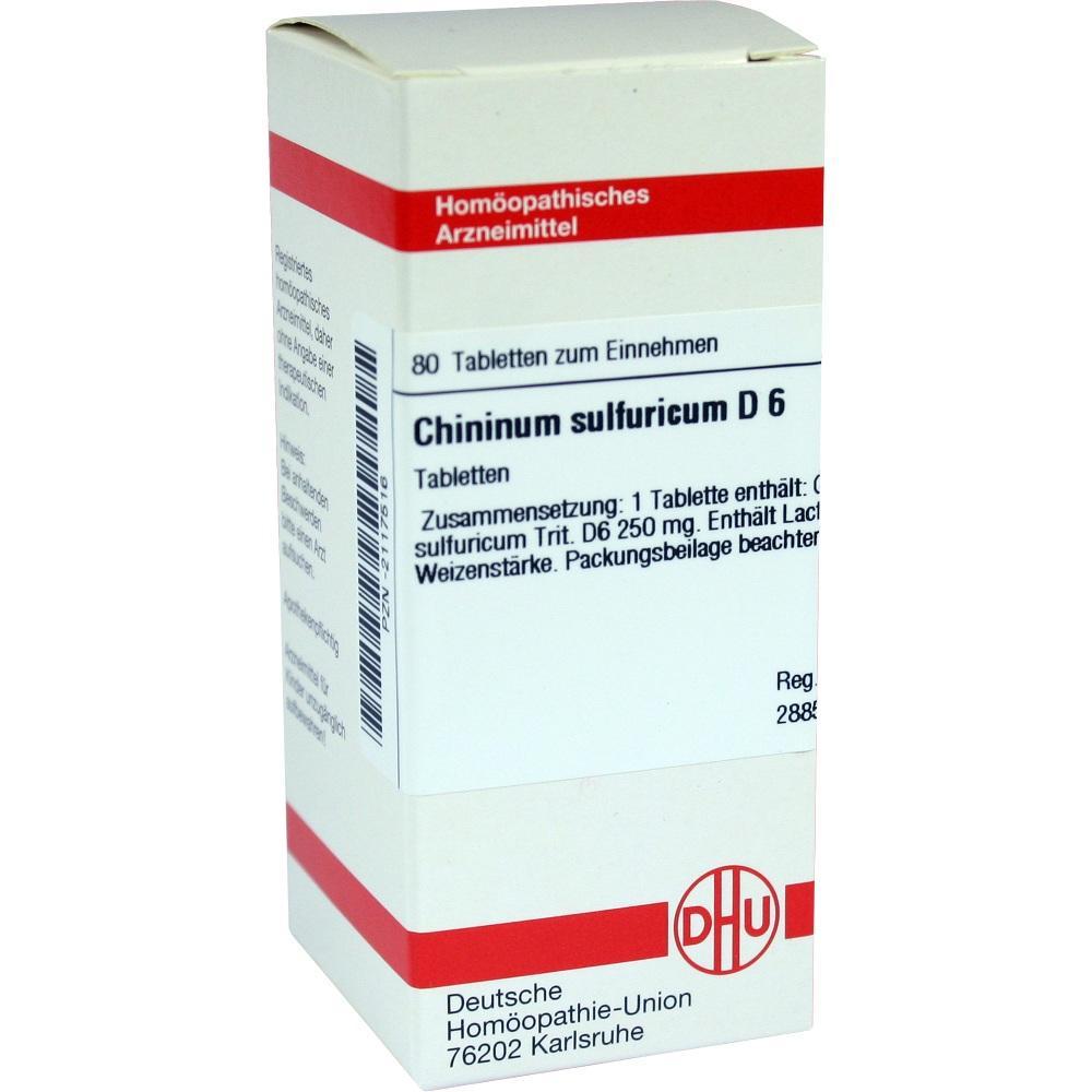 CHININUM SULFURICUM D 6 Tabletten