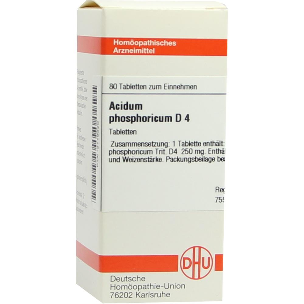 ACIDUM PHOSPHORICUM D 4 Tabletten
