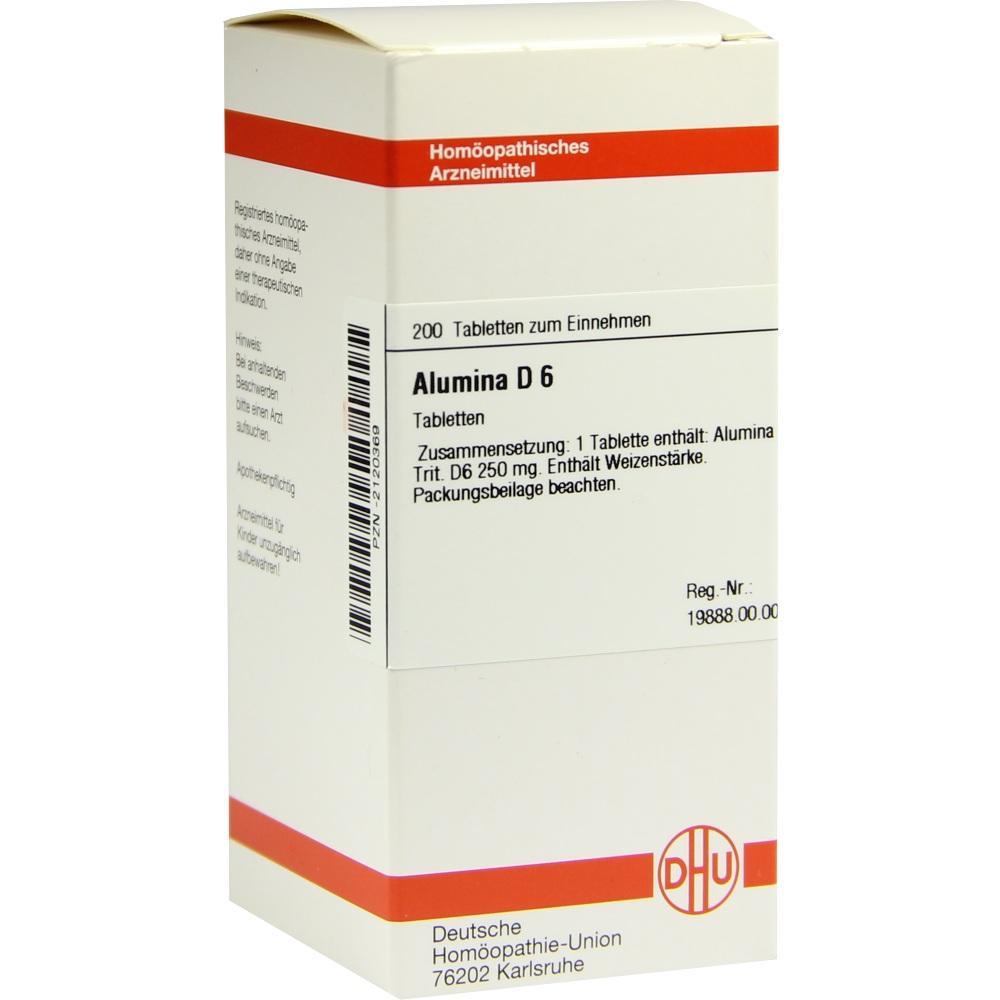 ALUMINA D 6 Tabletten