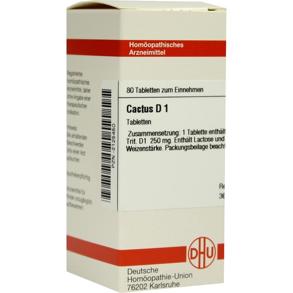 CACTUS D 1 Tabletten