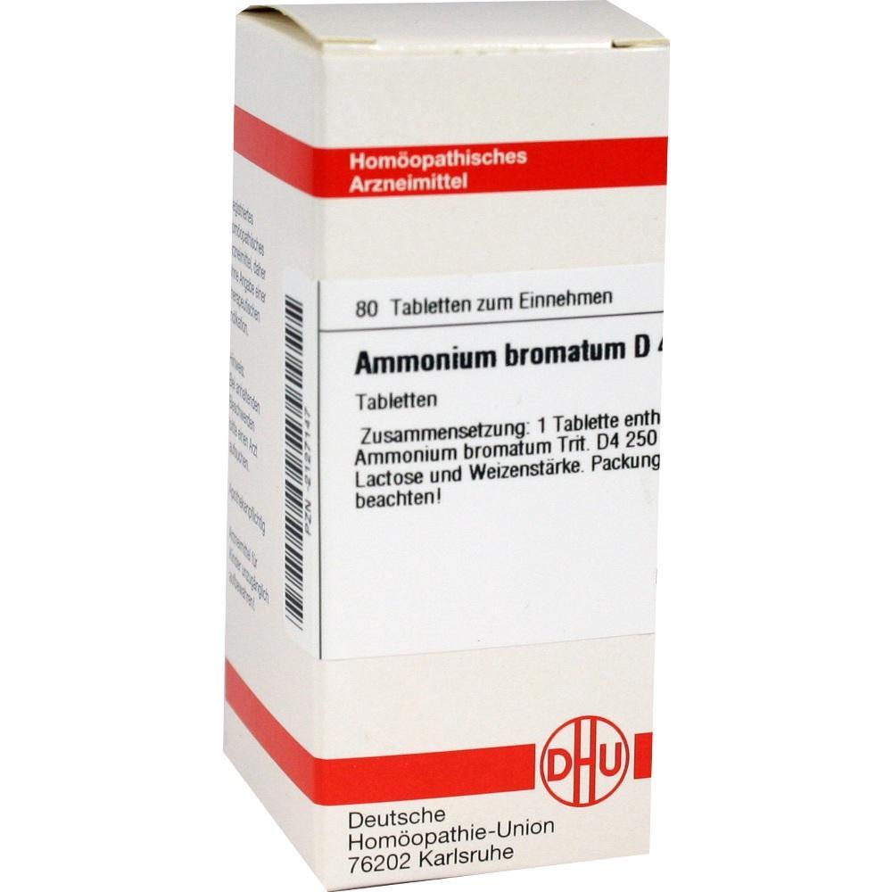 AMMONIUM BROMATUM D 4 Tabletten