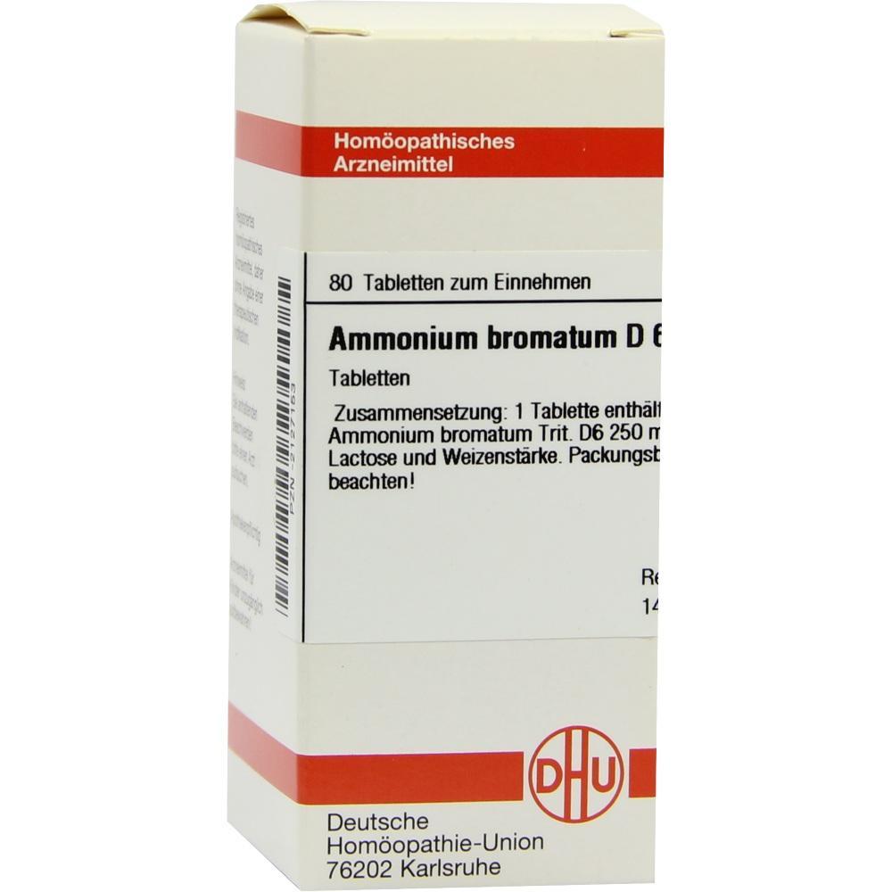 AMMONIUM BROMATUM D 6 Tabletten