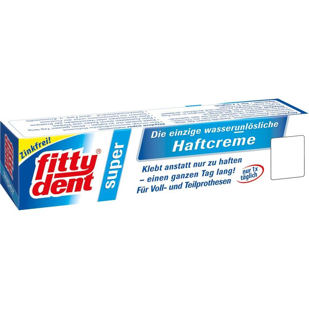 02171042, Fittydent super Haftcreme, 40 G