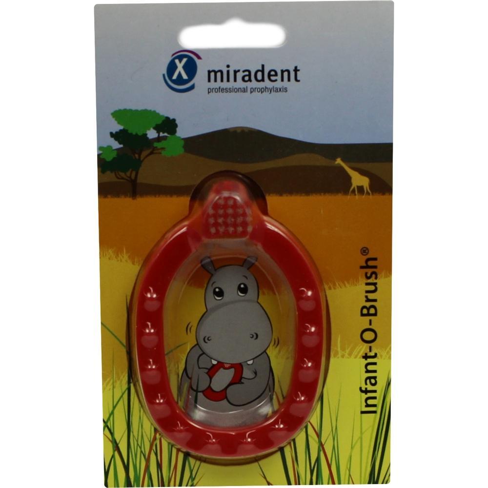 02172691, Infant-O-Brush Y Lernzahnbürste rot Kinderzahnb., 1 ST