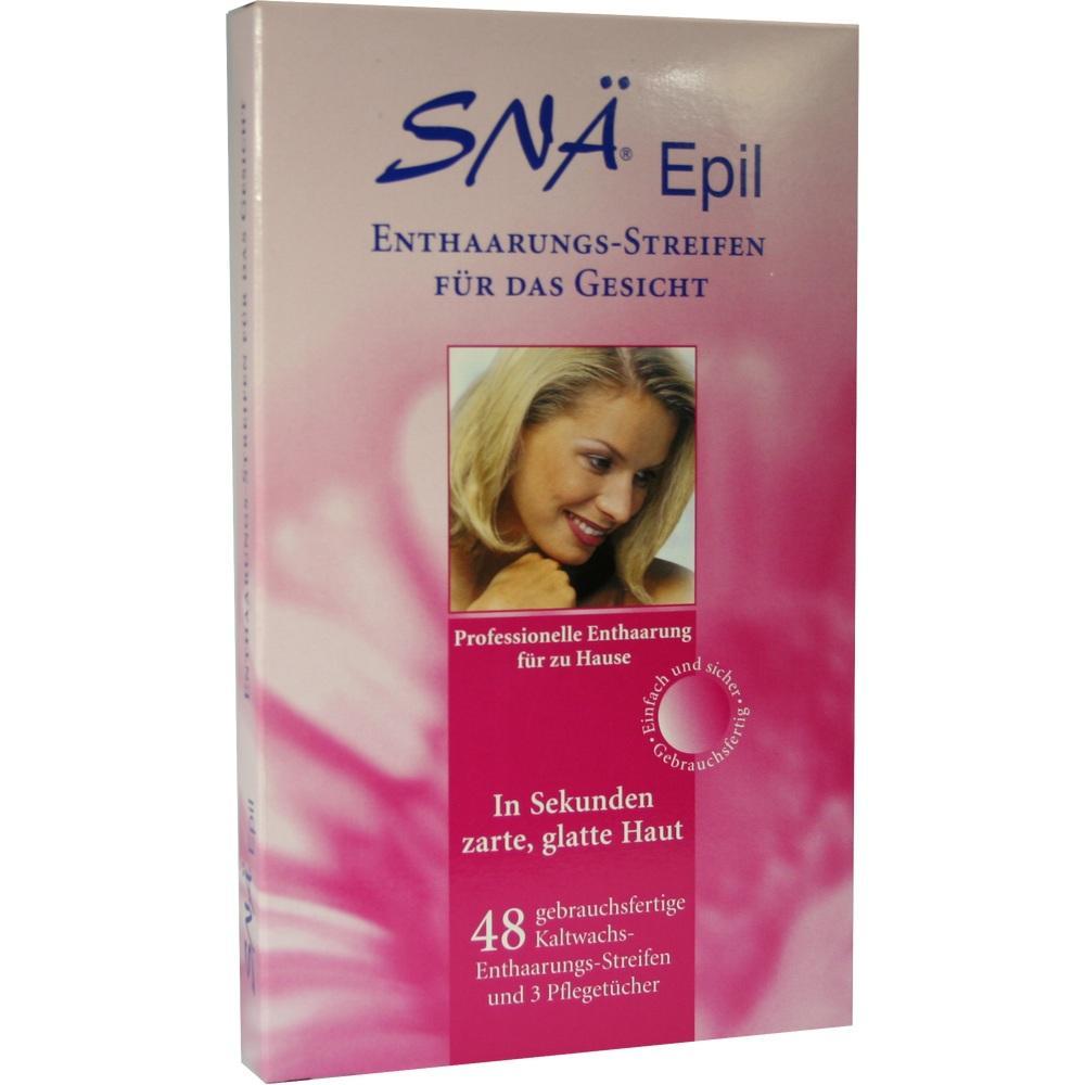 02186032, Enthaarungs-Streifen Gesicht Snae Epil, 48 ST