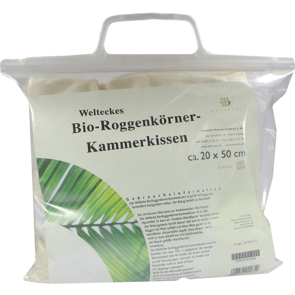 02191435, Roggen-Körner-Kammerkissen 20x50cm, 1 ST