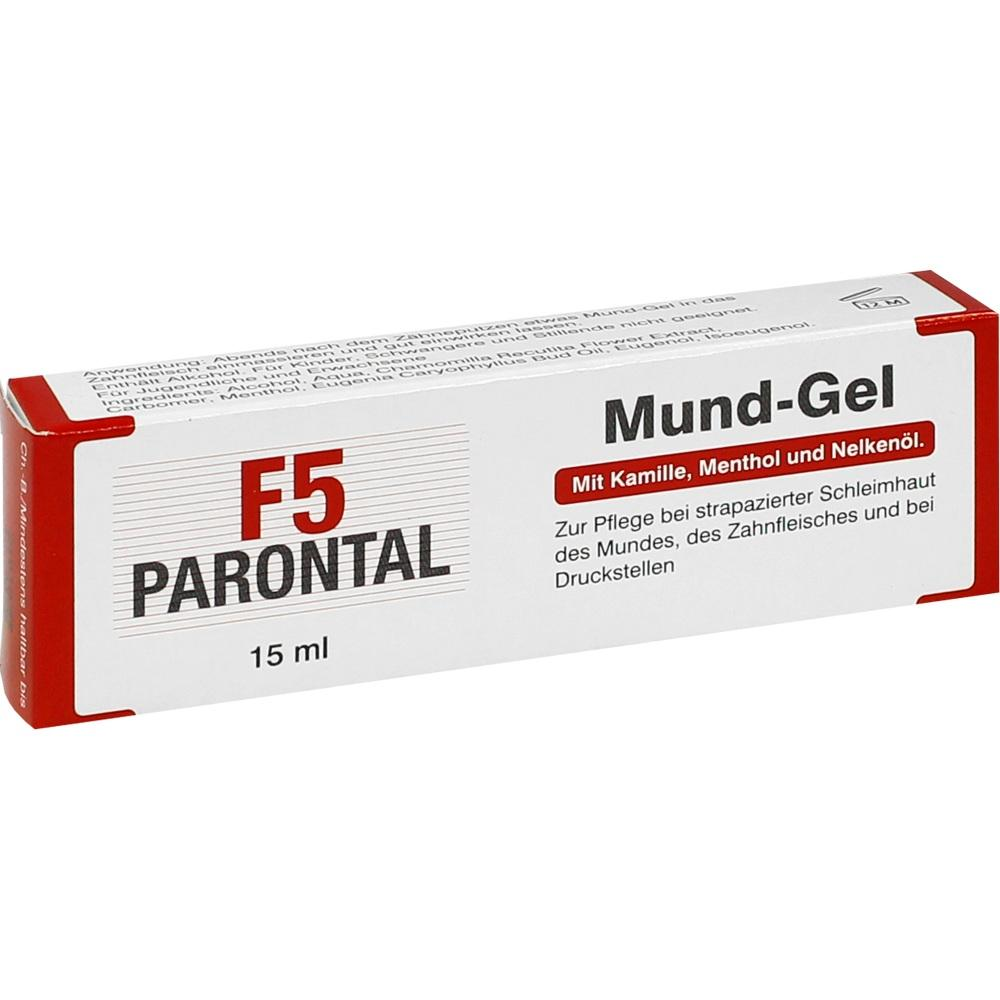 02240659, Parontal F5 Mund-Gel, 15 ML