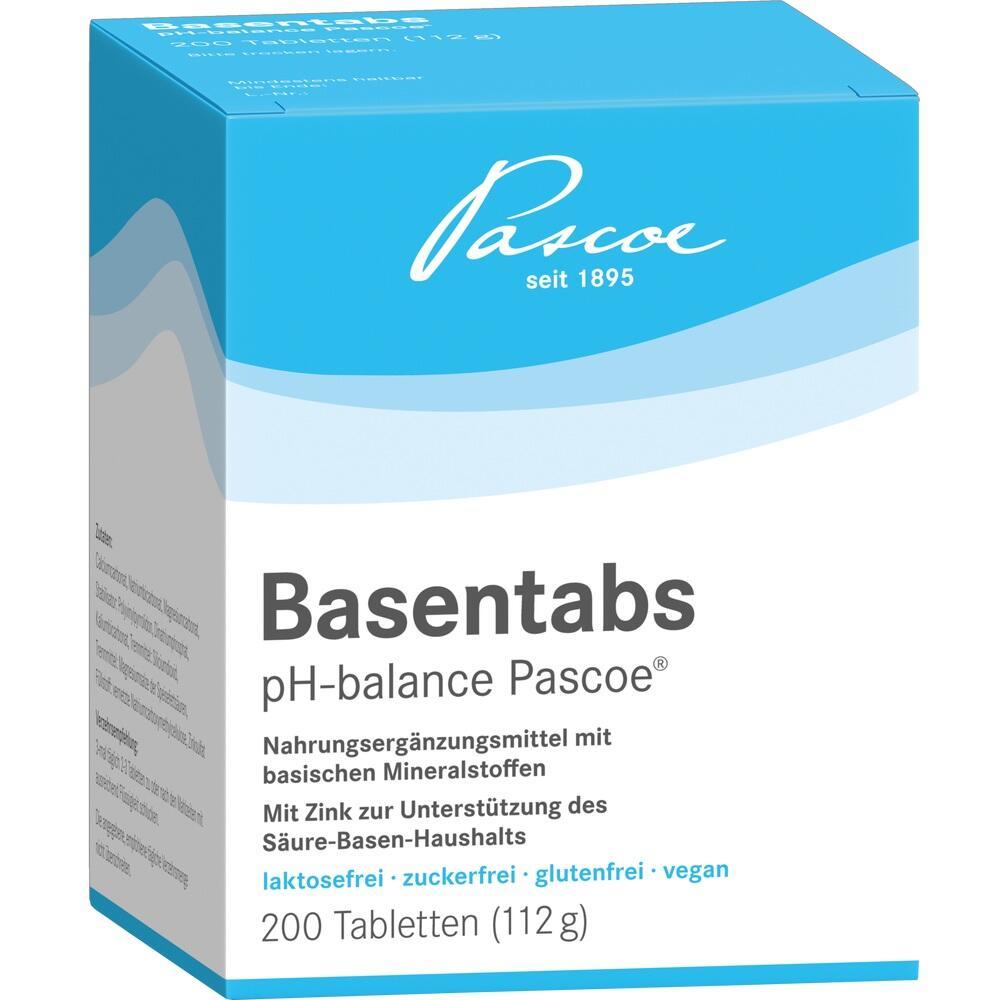 02246521, Basentabs pH-balance PASCOE, 200 ST