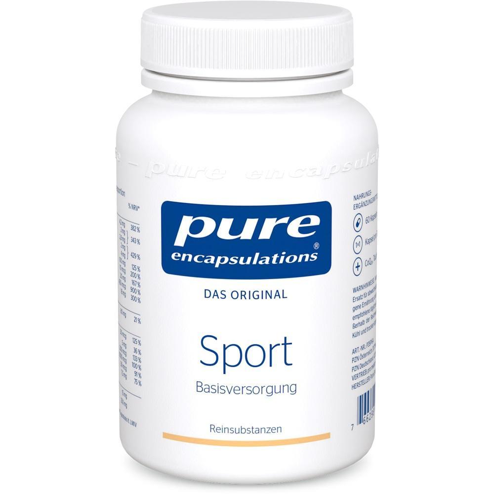02261087, PURE ENCAPSULATIONS SPORT Pure 365, 60 ST