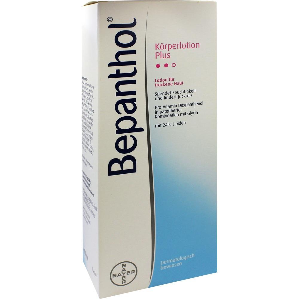02293561, Bepanthol Körperlotion Plus Spenderflasche, 400 ML