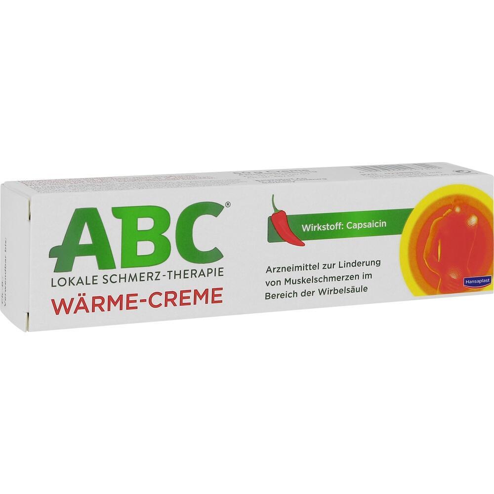 02295815, ABC Wärme-Creme Capsicum Hansaplast med, 50 G