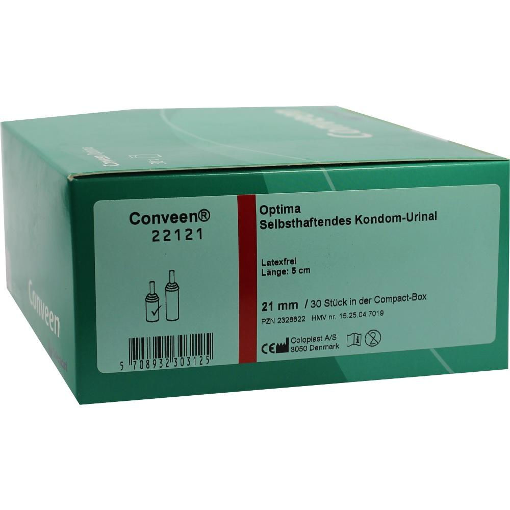 CONVEEN Optima Kondom Urinal 5 cm 21 mm 22121