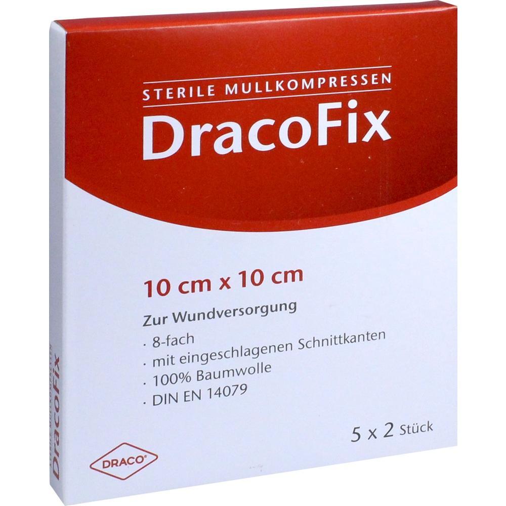 02358711, DRACOFIX PEEL KOM steril 10X10 8fach, 5X2 ST