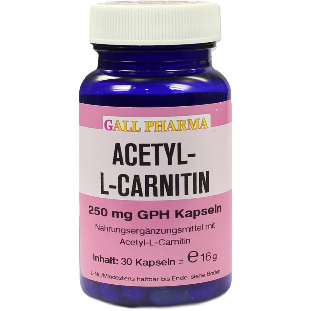 ACETYL L CARNITIN 250MG