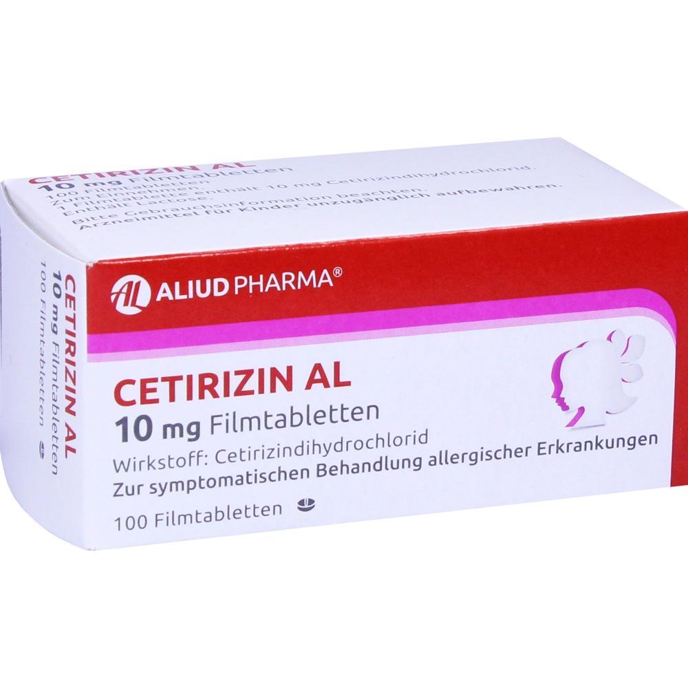 02406611, Cetirizin AL 10mg Filmtabletten, 100 ST