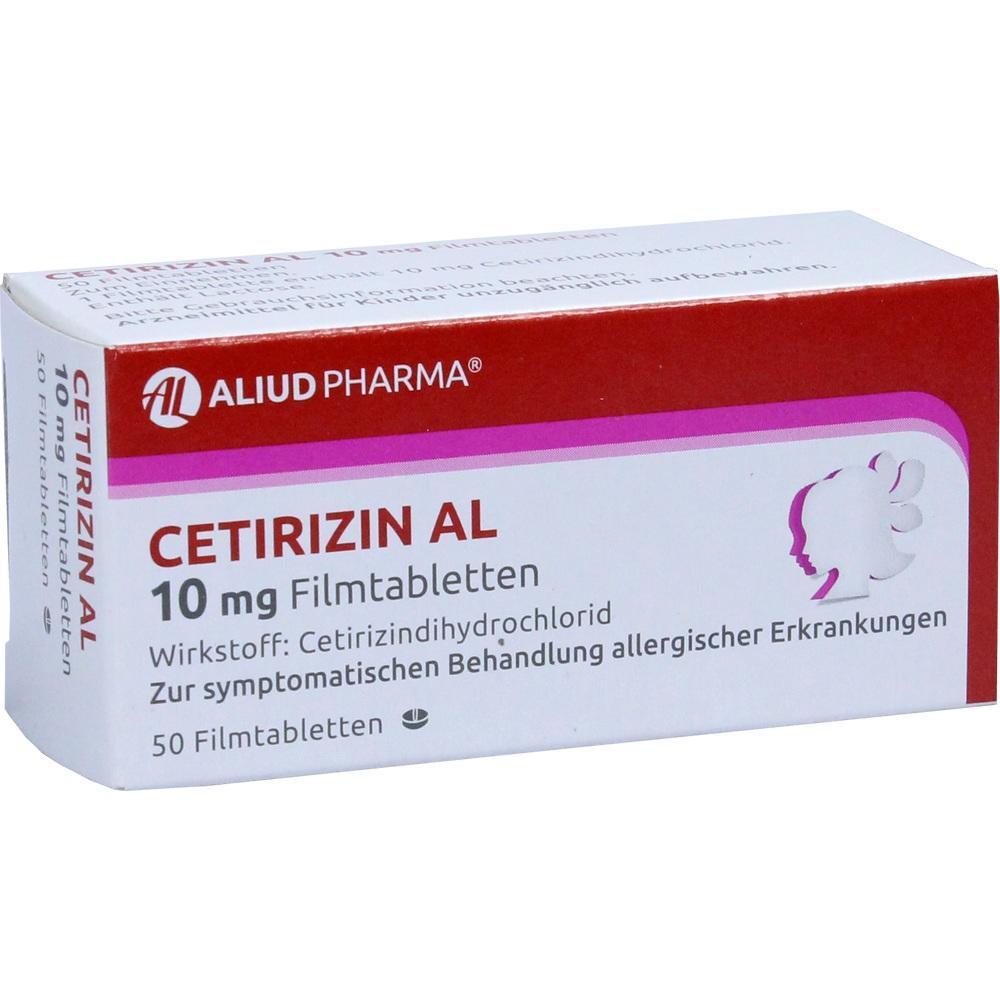 02406628, Cetirizin AL 10mg Filmtabletten, 50 ST