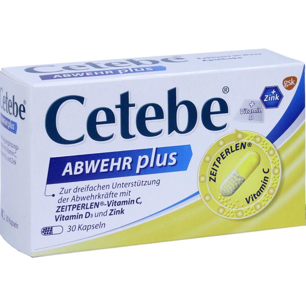02408188, CETEBE Abwehr plus, 30 ST