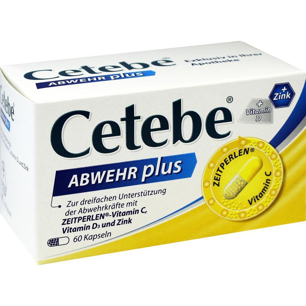 02411150, CETEBE Abwehr plus, 60 ST