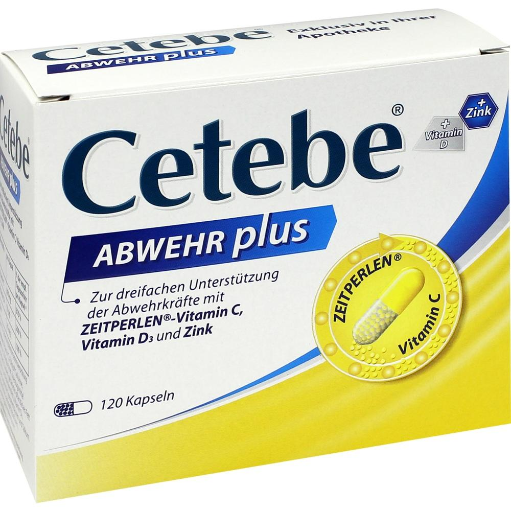 02415254, CETEBE Abwehr plus, 120 ST