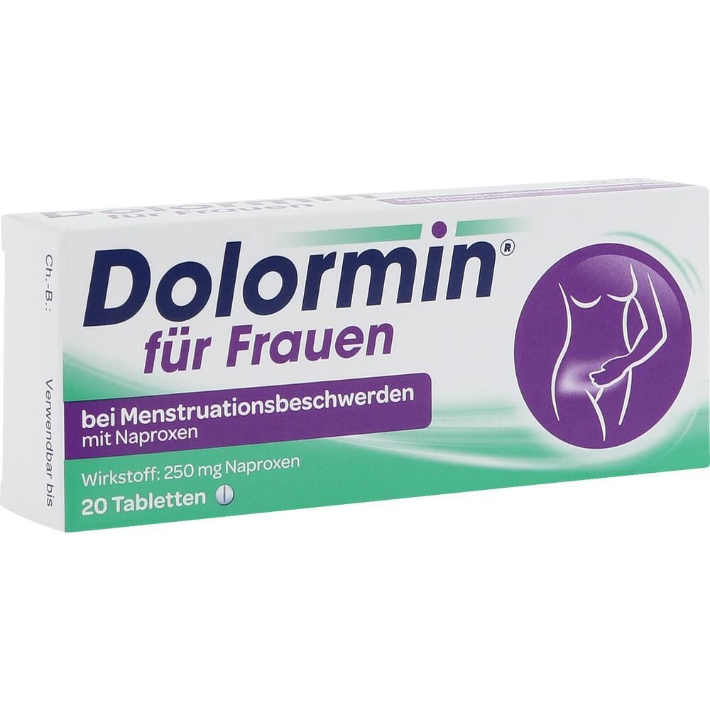 02434091, Dolormin f.Frauen bei Menstr.beschw. m. Naproxen, 20 ST