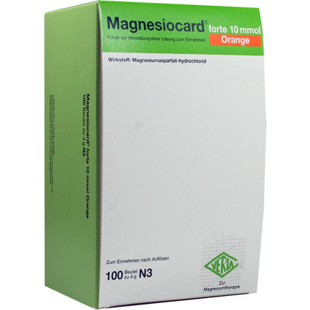 02470359, Magnesiocard forte 10 mmol Orange, 100 ST