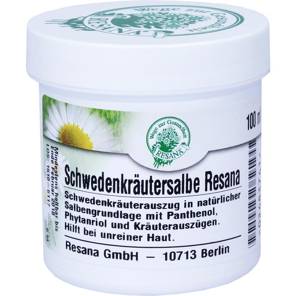 Resana GmbH SCHWEDENKRÄUTER Salbe 02483741