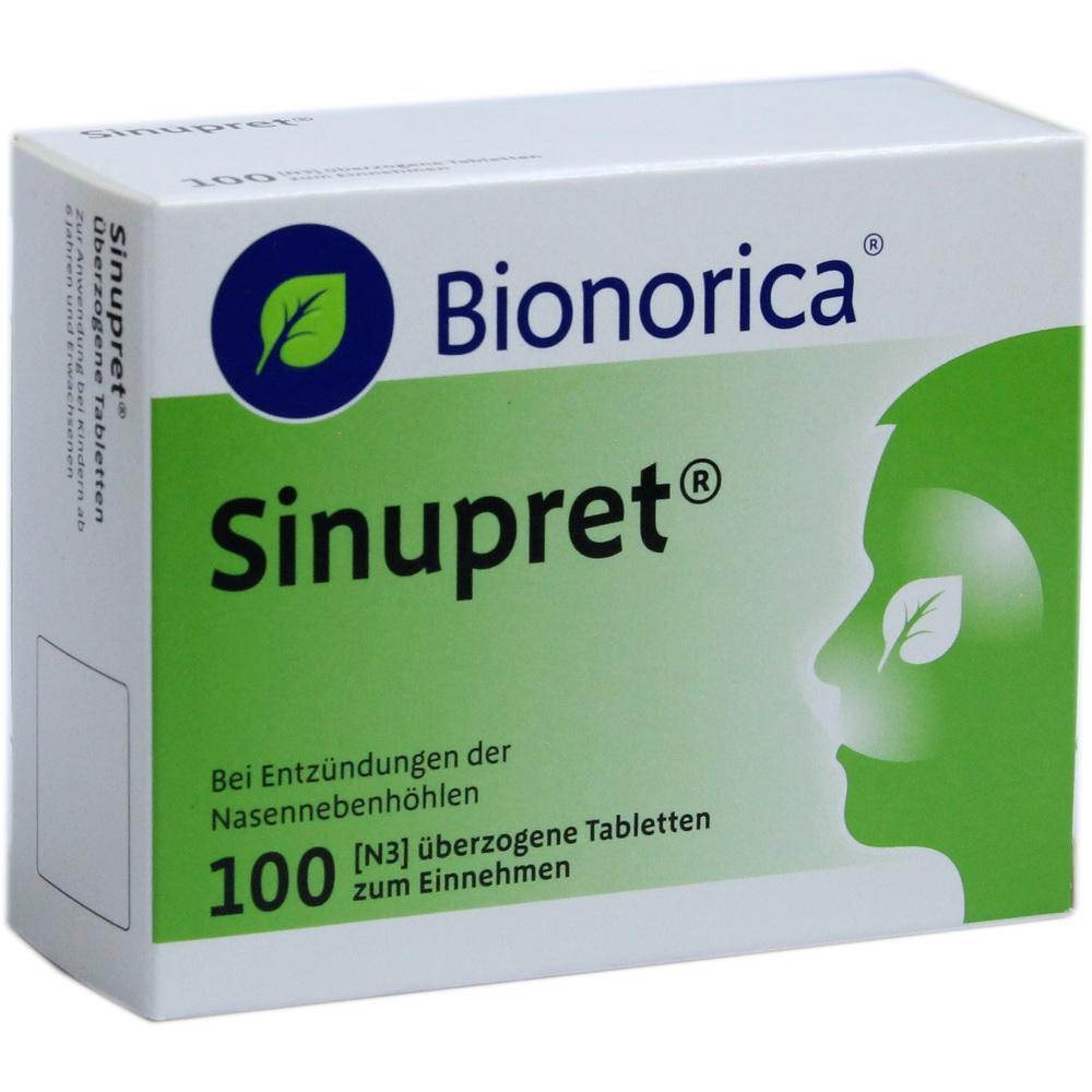 02493308, Sinupret Dragees, 100 ST