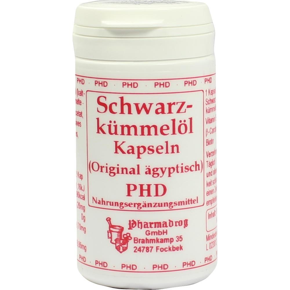02520637, Schwarzkümmelöl Kapseln Original ägyptisch, 80 ST