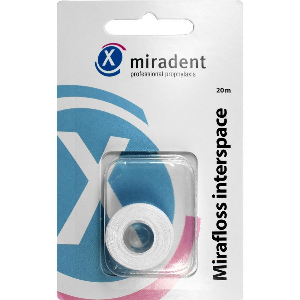 02540025, miradent Mirafloss Interspace Refill, 20 M