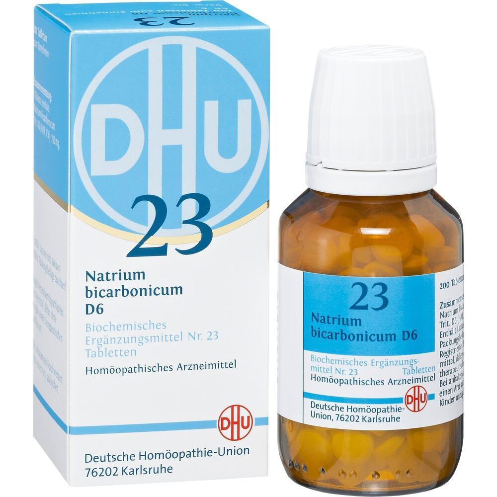 02581745, BIOCHEMIE DHU 23 NATRIUM BICARBONICUM D 6, 200 ST