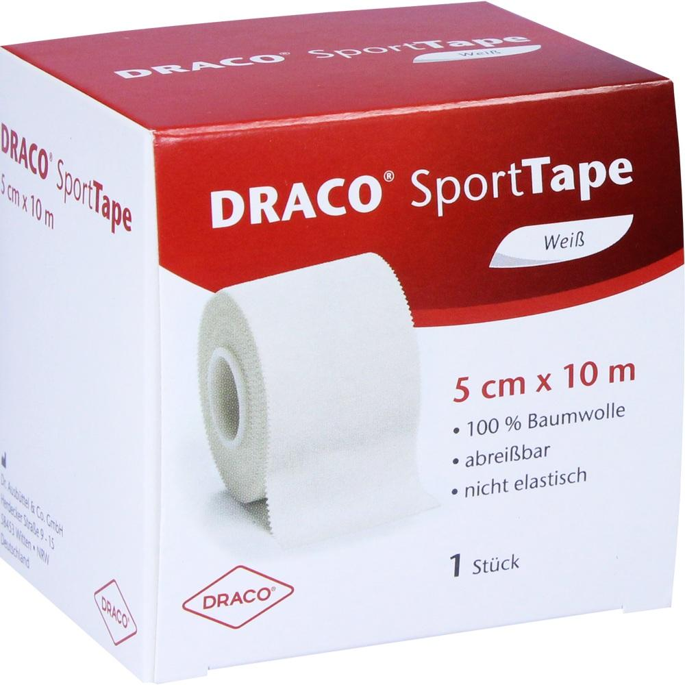 02591666, Dracotapeverband 10mx5cm weiss, 1 ST