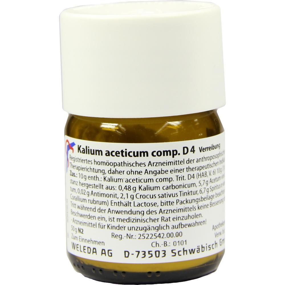 Kaluim Aceticum COMP.D 4 Trituration